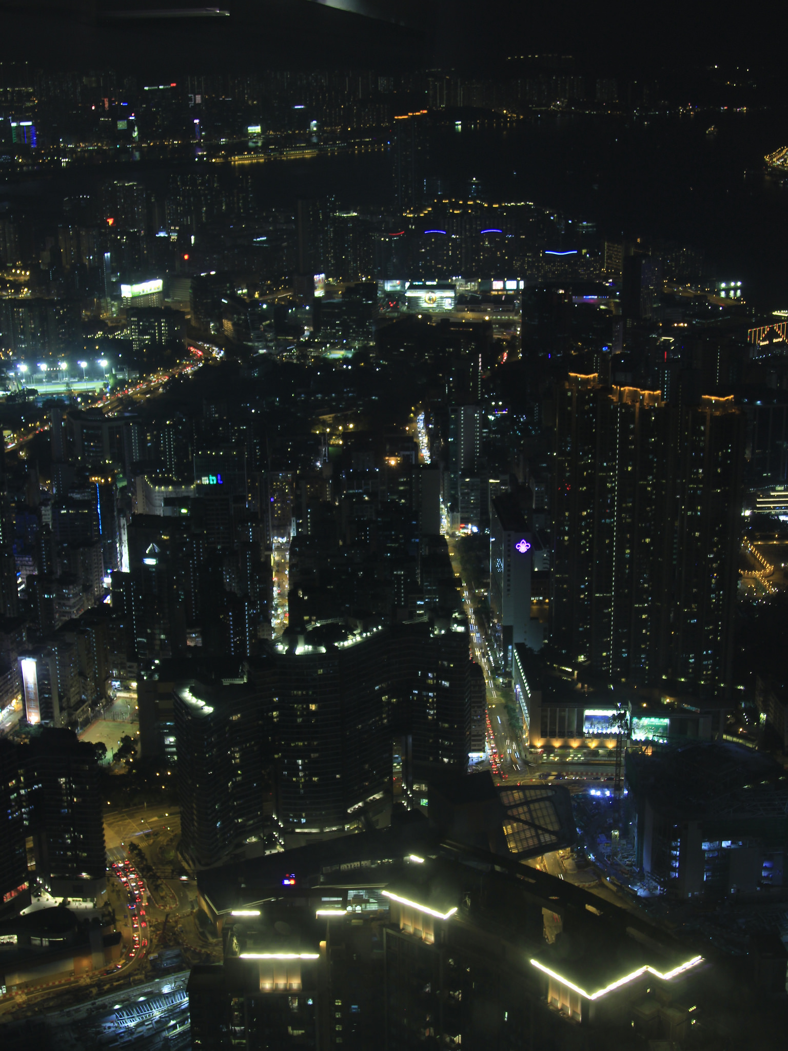 Sky100 // Hong Kong Night View